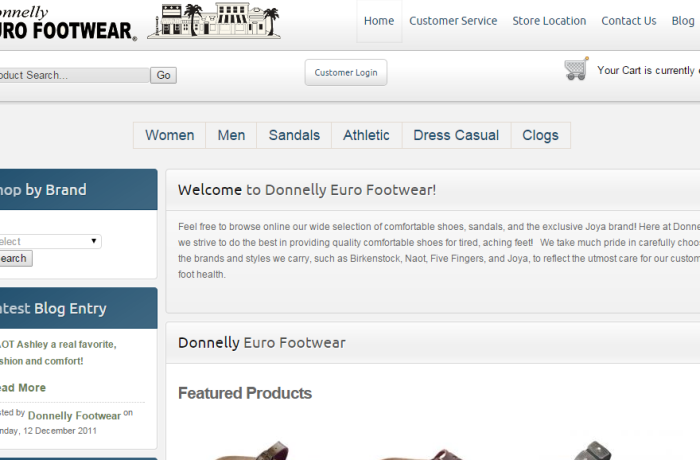 Donnelly Euro Footwear
